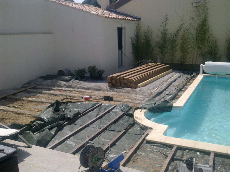 Amenagement autour d une piscine id es for Amenagement d une piscine