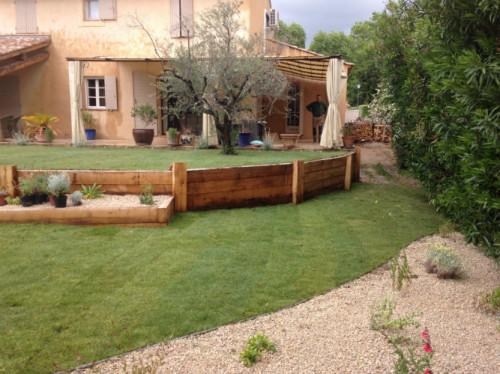 Création jardin alpilles